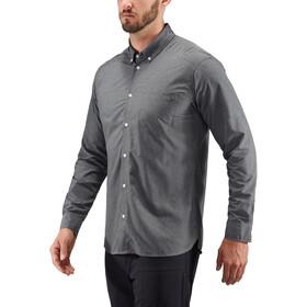 Haglöfs Vejan T-shirt à manches longues Homme, magnetite